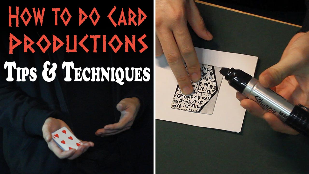 How to do Cards for Card Productions
